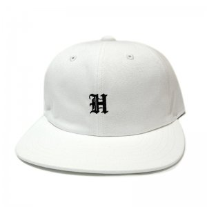 <img class='new_mark_img1' src='//img.shop-pro.jp/img/new/icons5.gif' style='border:none;display:inline;margin:0px;padding:0px;width:auto;' />HORRIBLE'S OLD EMBLEM SNAPBACK CAP / WHITE(ホリブルズ 6パネルキャップ)