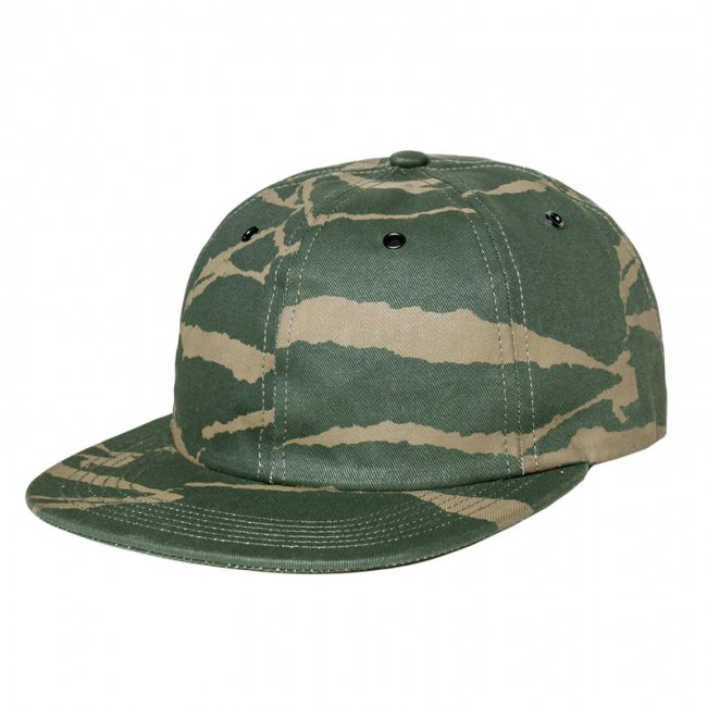 <img class='new_mark_img1' src='//img.shop-pro.jp/img/new/icons5.gif' style='border:none;display:inline;margin:0px;padding:0px;width:auto;' />DQM TORN PAPER CAMO POLO CAP / OLIVE (DQM NYC 6パネルポロキャップ/ボールキャップ)