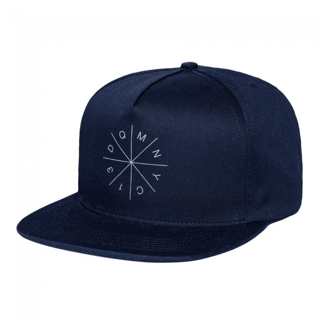 <img class='new_mark_img1' src='//img.shop-pro.jp/img/new/icons5.gif' style='border:none;display:inline;margin:0px;padding:0px;width:auto;' />DQM RADIUS SNAPBACK CAP / DENIM BLUE (DQM NYC 5スナップバックキャップ)