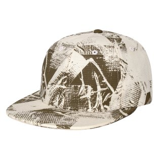 <img class='new_mark_img1' src='//img.shop-pro.jp/img/new/icons5.gif' style='border:none;display:inline;margin:0px;padding:0px;width:auto;' />DQM DUCK TAPE PRINT POLO CAP / BARK (DQM NYC 6パネルポロキャップ/ボールキャップ)
