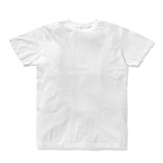 <img class='new_mark_img1' src='//img.shop-pro.jp/img/new/icons5.gif' style='border:none;display:inline;margin:0px;padding:0px;width:auto;' />DQM TINY LOGO TEE / WHITE (DQM NYC Tシャツ/半袖)