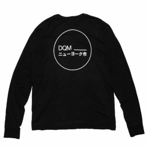 DQM HALCYON L/S TEE / BLACK (DQM NYC ロングスリーブTシャツ/長袖)