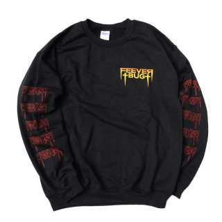 <img class='new_mark_img1' src='//img.shop-pro.jp/img/new/icons5.gif' style='border:none;display:inline;margin:0px;padding:0px;width:auto;' />FEEVERBUG FRIGHT NIGHT PT.3 CREW NECK SWEAT / BLACK (フィバーバグ クルーネックスウェット/トレーナー)