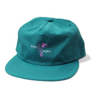 <img class='new_mark_img1' src='//img.shop-pro.jp/img/new/icons5.gif' style='border:none;display:inline;margin:0px;padding:0px;width:auto;' />Good Worth & Co. LEGS SNAPBACK CAP / TEAL (グッドワース キャップ/アパレル)