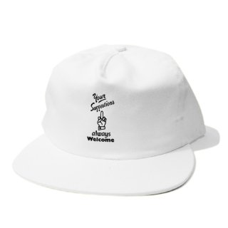 <img class='new_mark_img1' src='//img.shop-pro.jp/img/new/icons5.gif' style='border:none;display:inline;margin:0px;padding:0px;width:auto;' />Good Worth & Co. SUGGESTIONS SNAPBACK CAP / WHITE (グッドワース キャップ/アパレル)
