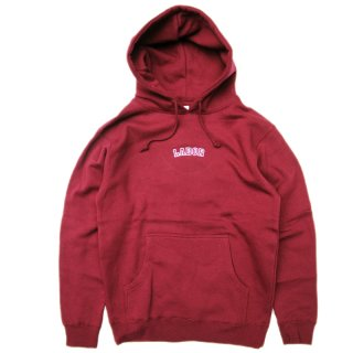 <img class='new_mark_img1' src='//img.shop-pro.jp/img/new/icons5.gif' style='border:none;display:inline;margin:0px;padding:0px;width:auto;' />LABOR ATTITUDE HOODIE / BURGUNDY  (レイバー プルオーバーパーカー/スウェット)