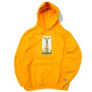 <img class='new_mark_img1' src='//img.shop-pro.jp/img/new/icons5.gif' style='border:none;display:inline;margin:0px;padding:0px;width:auto;' />HELLRAZOR FALLEN PULL OVER HOODIE / YELLOW (ヘルレイザー パーカー/フーディ)