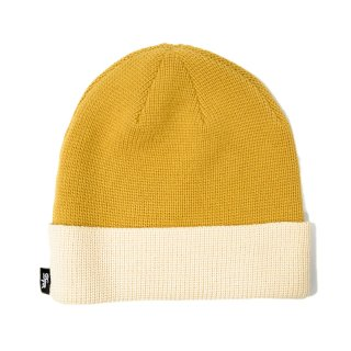 <img class='new_mark_img1' src='//img.shop-pro.jp/img/new/icons5.gif' style='border:none;display:inline;margin:0px;padding:0px;width:auto;' />DQM TWO TONE BEANIE / KAHKI(DQM NYC ニットキャップ/ビーニー)