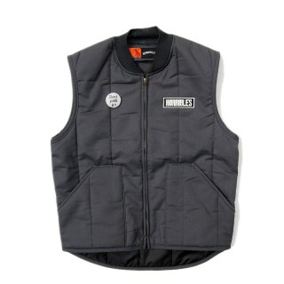 <img class='new_mark_img1' src='//img.shop-pro.jp/img/new/icons5.gif' style='border:none;display:inline;margin:0px;padding:0px;width:auto;' />HORRIBLE'S BITTER LOGO QUILTED LINER VEST / CHARCOAL (ホリブルズ ワークベスト)
