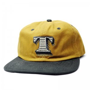 <img class='new_mark_img1' src='//img.shop-pro.jp/img/new/icons5.gif' style='border:none;display:inline;margin:0px;padding:0px;width:auto;' />THEORIES INITIATION SNAPBACK CAP / Copper×Charcoal (セオリーズ 6パネルキャップ)