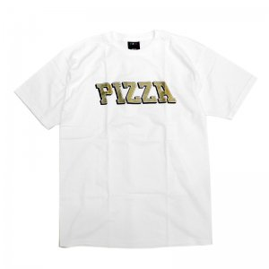<img class='new_mark_img1' src='//img.shop-pro.jp/img/new/icons5.gif' style='border:none;display:inline;margin:0px;padding:0px;width:auto;' />PIZZA SKATEBOARDS PIZLA TEE / WHITE (ピザスケートボード Tシャツ)