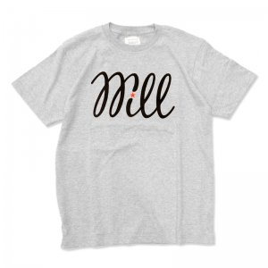 <img class='new_mark_img1' src='//img.shop-pro.jp/img/new/icons1.gif' style='border:none;display:inline;margin:0px;padding:0px;width:auto;' />WILL BASIC LOGO TEE / HEATHER GREY (ウィル Tシャツ)