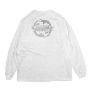 <img class='new_mark_img1' src='//img.shop-pro.jp/img/new/icons5.gif' style='border:none;display:inline;margin:0px;padding:0px;width:auto;' />HORRIBLE'S MIRAGE LONG SLEEVE T-SHIRT / WHITE (ホリブルズ ロングスリーブTシャツ/長袖)