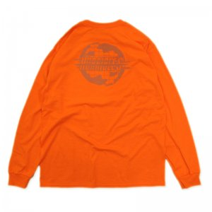 <img class='new_mark_img1' src='//img.shop-pro.jp/img/new/icons5.gif' style='border:none;display:inline;margin:0px;padding:0px;width:auto;' />HORRIBLE'S MIRAGE LONG SLEEVE T-SHIRT / SAFETY ORANGE (ホリブルズ ロングスリーブTシャツ/長袖)