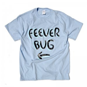 FEEVERBUG SIGNBOARD TEE / LIGHT BLUE (フィバーバグ Tシャツ/半袖)