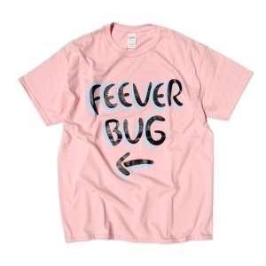 FEEVERBUG SIGNBOARD TEE / LIGHT PINK (フィバーバグ Tシャツ/半袖)