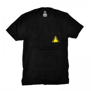 THEORIES THEORAMID POCKET TEE BLACK (セオリーズ Tシャツ)
