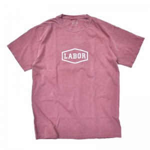<img class='new_mark_img1' src='//img.shop-pro.jp/img/new/icons5.gif' style='border:none;display:inline;margin:0px;padding:0px;width:auto;' />LABOR CREST LOGO OVERDYED TEE / MAROON (レイバー Tシャツ/半袖Tシャツ)