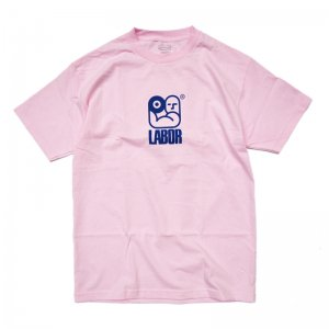 <img class='new_mark_img1' src='//img.shop-pro.jp/img/new/icons5.gif' style='border:none;display:inline;margin:0px;padding:0px;width:auto;' />LABOR FLEX TEE / LIGHT PINK (レイバー Tシャツ/半袖Tシャツ)