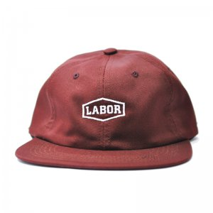 <img class='new_mark_img1' src='//img.shop-pro.jp/img/new/icons5.gif' style='border:none;display:inline;margin:0px;padding:0px;width:auto;' />LABOR CREST LOGO 6PANEL CAP / MAROON (レイバー キャップ)