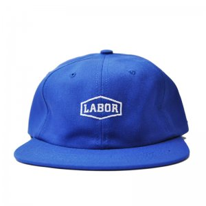 <img class='new_mark_img1' src='//img.shop-pro.jp/img/new/icons5.gif' style='border:none;display:inline;margin:0px;padding:0px;width:auto;' />LABOR CREST LOGO 6PANEL CAP / ROYAL BLUE (レイバー キャップ)