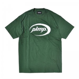 <img class='new_mark_img1' src='//img.shop-pro.jp/img/new/icons5.gif' style='border:none;display:inline;margin:0px;padding:0px;width:auto;' />HORRIBLE'S PIMP T-SHIRT / FOREST GREEN (ホリブルズ Tシャツ)