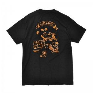 FEEVERBUG LET'S GO TEE / BLACK (フィバーバグ Tシャツ/半袖)