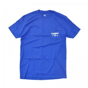 THEORIES MOLUCH POCKET TEE / ROYAL (セオリーズ Tシャツ/半袖)