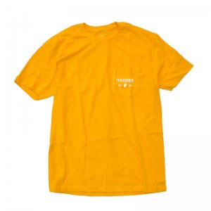 THEORIES MOLUCH POCKET TEE / GOLD (セオリーズ Tシャツ/半袖)