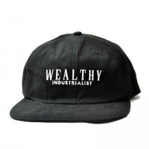 THEORIES PENNYPACKER SNAPBACK CAP / BLACK (セオリーズ 6パネルキャップ)