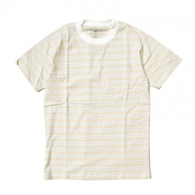 【20%OFF】QUASI CCD POCKET TEE / CREME (クアジ Tシャツ/半袖)<img class='new_mark_img2' src='//img.shop-pro.jp/img/new/icons41.gif' style='border:none;display:inline;margin:0px;padding:0px;width:auto;' />