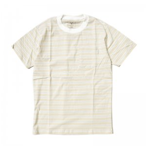 <img class='new_mark_img1' src='//img.shop-pro.jp/img/new/icons5.gif' style='border:none;display:inline;margin:0px;padding:0px;width:auto;' />【30%OFF】QUASI CCD POCKET TEE / CREME (クアジ Tシャツ/半袖)