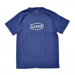 <img class='new_mark_img1' src='//img.shop-pro.jp/img/new/icons5.gif' style='border:none;display:inline;margin:0px;padding:0px;width:auto;' />LABOR CREST LOGO TEE / OVERDYED NAVY (レイバー Tシャツ/半袖Tシャツ)