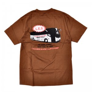 <img class='new_mark_img1' src='//img.shop-pro.jp/img/new/icons5.gif' style='border:none;display:inline;margin:0px;padding:0px;width:auto;' />LABOR LUCKY LABOR TEE / BROWN (レイバー Tシャツ/半袖Tシャツ)