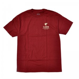 <img class='new_mark_img1' src='//img.shop-pro.jp/img/new/icons5.gif' style='border:none;display:inline;margin:0px;padding:0px;width:auto;' />LABOR MONK TEE / BURGUNDY (レイバー Tシャツ/半袖Tシャツ)