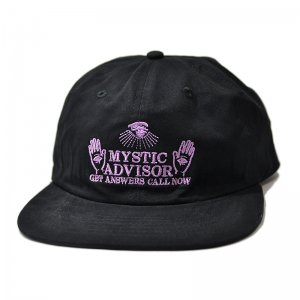 <img class='new_mark_img1' src='//img.shop-pro.jp/img/new/icons5.gif' style='border:none;display:inline;margin:0px;padding:0px;width:auto;' />THEORIES MYSTIC ADVISOR 6 PANEL HAT / BLACK(セオリーズ キャップ/帽子)