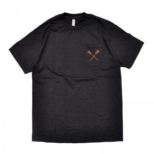 FEEVERBUG THE STORE POCKET TEE / BLACK (フィバーバグ ポケットTシャツ/半袖)