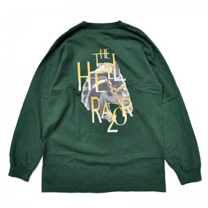 <img class='new_mark_img1' src='//img.shop-pro.jp/img/new/icons5.gif' style='border:none;display:inline;margin:0px;padding:0px;width:auto;' />HELLRAZOR GOLDEN HORSE L/S Shirts / HUNTER GREEN (ヘルレイザー ロンT/長袖Tシャツ)