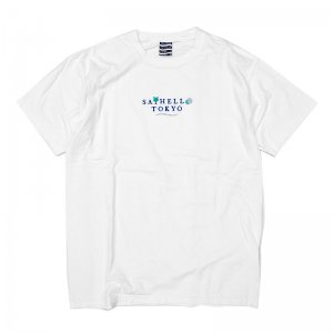 <img class='new_mark_img1' src='//img.shop-pro.jp/img/new/icons5.gif' style='border:none;display:inline;margin:0px;padding:0px;width:auto;' />SAYHELLO HOLIDAY GARMENT DYE TEE / WHITE (セイハロー Tシャツ)
