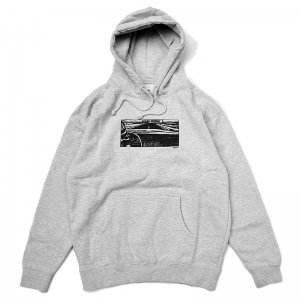 <img class='new_mark_img1' src='//img.shop-pro.jp/img/new/icons5.gif' style='border:none;display:inline;margin:0px;padding:0px;width:auto;' />WKND GIRL IN THE CAR HOODIE / HEATHER GREY (ウィークエンド フーディ/スウェットパーカー)