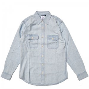 <img class='new_mark_img1' src='//img.shop-pro.jp/img/new/icons5.gif' style='border:none;display:inline;margin:0px;padding:0px;width:auto;' />WKND CHAMBRAY WORK SHIRT (ウィークエンド 長袖シャツ)