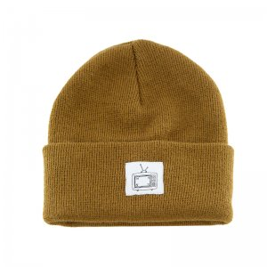 <img class='new_mark_img1' src='//img.shop-pro.jp/img/new/icons5.gif' style='border:none;display:inline;margin:0px;padding:0px;width:auto;' />WKND TV Cuff Beanie / Copper (ウィークエンド ニットキャップ/ビーニーキャップ)