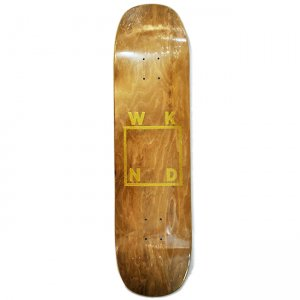 <img class='new_mark_img1' src='//img.shop-pro.jp/img/new/icons5.gif' style='border:none;display:inline;margin:0px;padding:0px;width:auto;' />【20%OFF】WKND Gold Logo Deck / 8.5