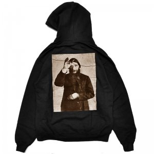 <img class='new_mark_img1' src='//img.shop-pro.jp/img/new/icons5.gif' style='border:none;display:inline;margin:0px;padding:0px;width:auto;' />THEORIES RASPUTIN PULLOVER HOODIE /BLACK w/GOLD Ink (セオリーズ フーディー/パーカー)