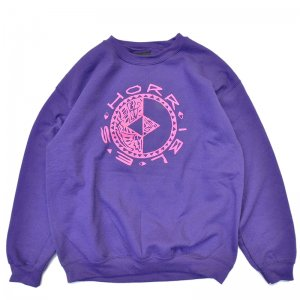 <img class='new_mark_img1' src='//img.shop-pro.jp/img/new/icons5.gif' style='border:none;display:inline;margin:0px;padding:0px;width:auto;' />HORRIBLE'S - HOT&COLD CREWNECK SWEAT / PURPLE (ホリブルズ スウェット/クルーネック)