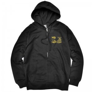 <img class='new_mark_img1' src='//img.shop-pro.jp/img/new/icons55.gif' style='border:none;display:inline;margin:0px;padding:0px;width:auto;' />DOOM SAYERS CORP ZIP HOODIE / BLACK  (ドゥームセイヤーズ ジップパーカー)