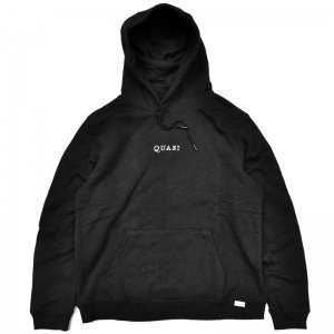 <img class='new_mark_img1' src='//img.shop-pro.jp/img/new/icons5.gif' style='border:none;display:inline;margin:0px;padding:0px;width:auto;' />QUASI LOGOS HOODIE / BLACK (クアジ パーカー フーディー)