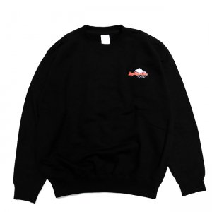 <img class='new_mark_img1' src='//img.shop-pro.jp/img/new/icons5.gif' style='border:none;display:inline;margin:0px;padding:0px;width:auto;' />DAY LIQUOR STORE MOUNTAIN CREWNECK SWEAT / BLACK (デイリカーストアー クルーネックスウェット)