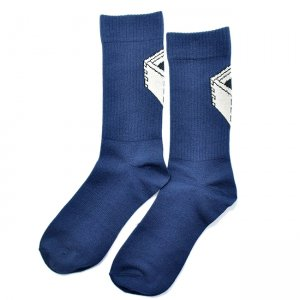 <img class='new_mark_img1' src='//img.shop-pro.jp/img/new/icons5.gif' style='border:none;display:inline;margin:0px;padding:0px;width:auto;' />DAY LIQUOR STORE MASU SOCKS / NAVY (デイリカーストアー ソックス/靴下)