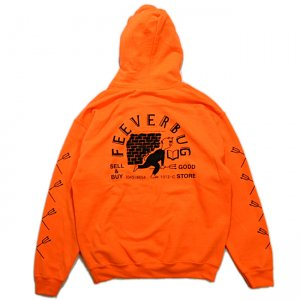 <img class='new_mark_img1' src='https://img.shop-pro.jp/img/new/icons1.gif' style='border:none;display:inline;margin:0px;padding:0px;width:auto;' />FEEVERBUG THE STORE HOODIE / SAFETY ORANGE 【HORRIBLE'S PROJECT 別注カラー】 (フィバーバグ パーカー/スウェット)